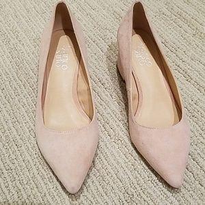 Franco Sarto pink shoes